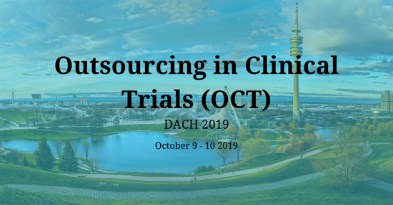 Outsourcing in Clinical Trials (OCT) DACH 2019