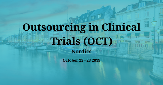 Outsourcing in Clinical Trials (OCT) Nordics 2019