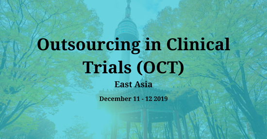 Outsourcing in Clinical Trials (OCT) East Asia 2019