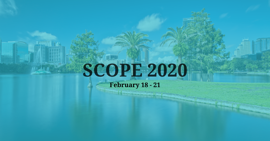 Summit for Clinical Ops Executives (SCOPE) 2020