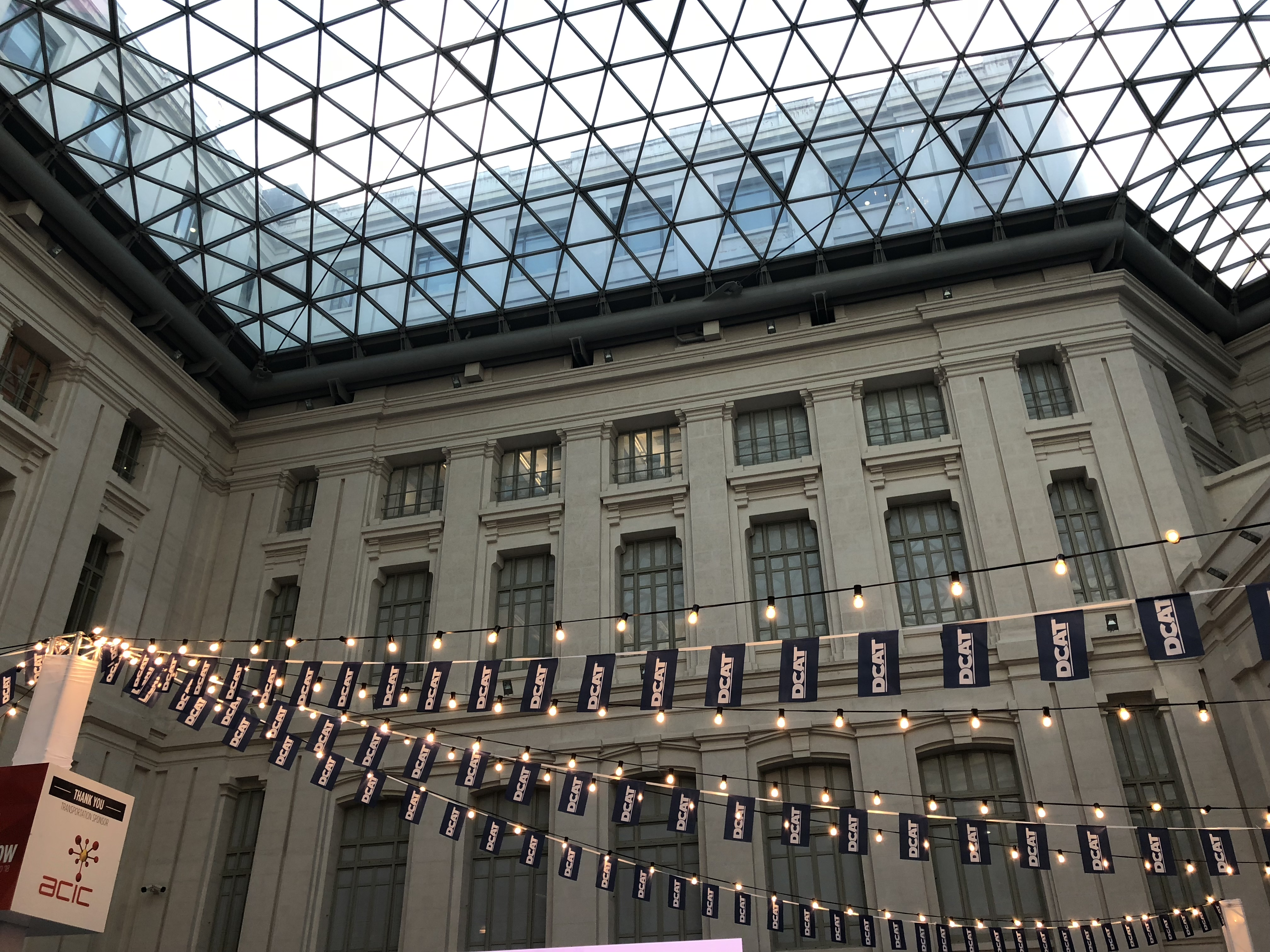 Madrid's Cibeles Palace Glass Gallery